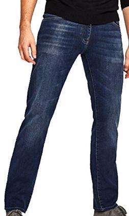Mavi Men's Jean ZACH Straight Leg in Dark Brushed Williamsbu