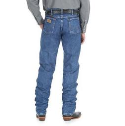Wrangler Men's Jeans 13Mwz Original Fit Premium Wash Stonewa
