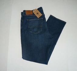Lucky Brand Jeans 181 Relaxed Straight Mens 52 X 30 Light Wa