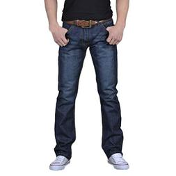 Realdo Mens Jeans, Casual Denim Cotton Hip Hop Slim Work Lon