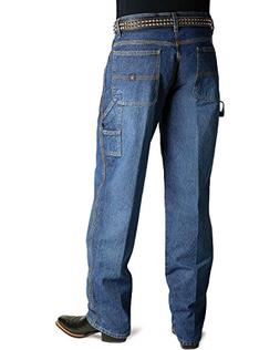 Cinch Men's Blue Label Carpenter Loose Fit Jean, Medium Ston