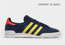 ADIDAS Jeans Blue Yellow Red MEN'S TRAINERS ALL SIZES