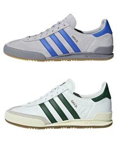 ADIDAS JEANS CASUAL TRAINERS in GREY/BLUE & WHITE/GREEN- FRE