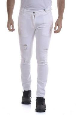 Daniele Alessandrini Jeans Cotton Man Whites PJ5559L45202