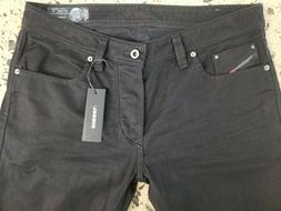 DIESEL jeans for men NWT style LARKEE black stretch size 34