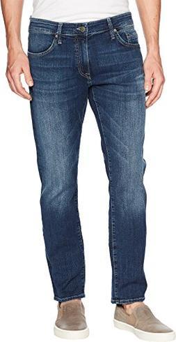 Mavi Jeans Men's Marcus Regular Rise Slim Straight Leg in Da