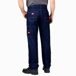 Dickies Jeans Men's 34 UL Relaxed Fit Double Knee Straight