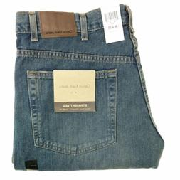 Calvin Klein Jeans Men's 38x32 Relaxed Straight Fit Dirty Wa