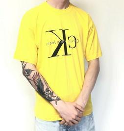 Calvin Klein Jeans Men's Better Cotton Logo Graphic T-Shirt
