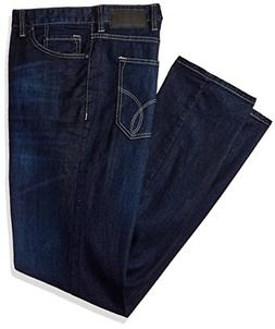 Calvin Klein Jeans Men's Big and Tall Relaxed Fit, Deep Wate
