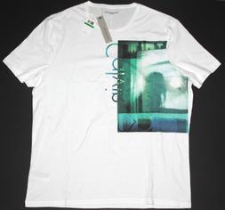 Calvin Klein Jeans Men's Crew Neck T-Shirt Window View Size