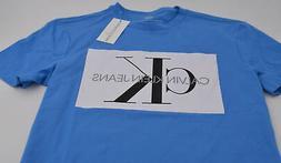 Calvin Klein Jeans Men's Monogram Logo-Print T-Shirt NWT Siz