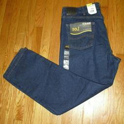 Lee Jeans Men's Regular Fit Straight Leg 40 x 30 Pepper Prew