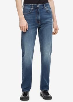 Calvin Klein Jeans Men's Relaxed Straight-Fit Jeans Houston