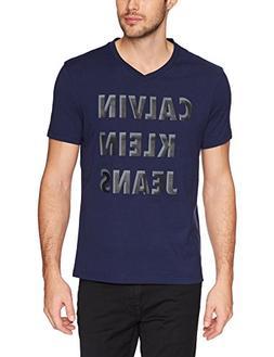 Calvin Klein Jeans Men's Short Sleeve T-Shirt HD Shadow Logo