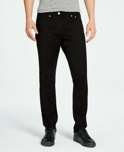 Calvin Klein Jeans Men's Slim-Fit Jeans Black 33-30