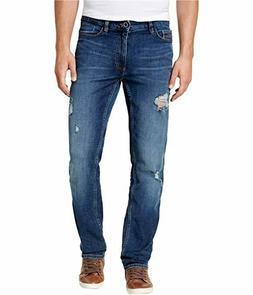 Calvin Klein Jeans Men's,Slim Straight Fit Denim Jean,Crashe
