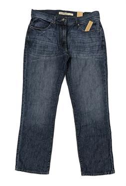 DKNY Jeans Men's Soho Relaxed Fit Jeans Medium Dark Wash