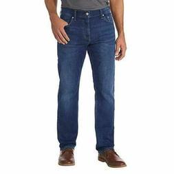 Calvin Klein Jeans Men's Straight Fit Jeans Aude Blue CKJ 03