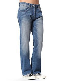 Mavi Jeans Men's Myles Casual Straight in Mid Shaded William