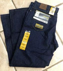 Lee Jeans Regular Fit Mens Denim Straight Leg Stretch 38X34