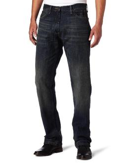 Nautica Jeans Men's Relaxed Cross Hatch Jean, Rigger Blue, 3