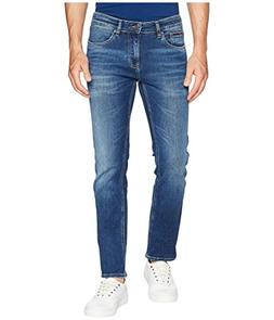 Tommy Jeans Men's Scanton Slim Fit Jeans Wilson Mid Blue Str