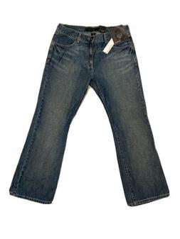 Calvin Klein Jeans Slim Bootcut Blue Mens Size 33x30 Vintage