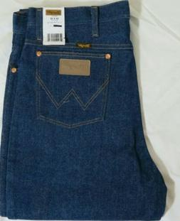 Wrangler Jeans Slim Fit, Fits Over Boots Size 35X38 Mens.