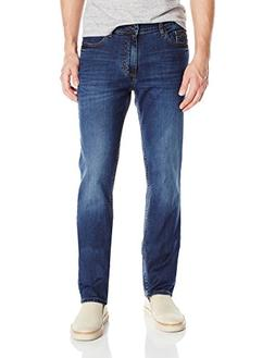 Calvin Klein Jeans Men's Slim Straight Jean, Stone Wash, 36x