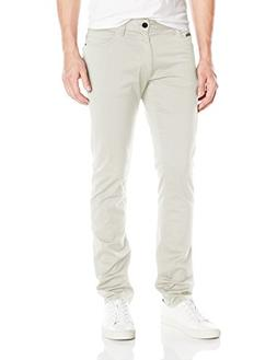 Calvin Klein Jeans Men's Slim Straight Stretch Sateen Pant,