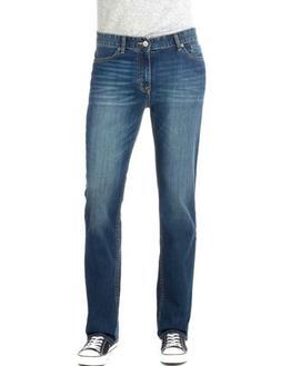 Calvin Klein Men's Straight, Authentic Blue, 38W x 30L