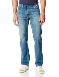Calvin Klein Jeans Men's Straight Leg Jean, Silver Bullet, 3