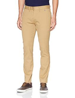 Tommy Jeans Men's Original Stretch Slim Fit Chino Pants, Kel