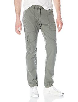 Calvin Klein Jeans Men's Taper Flight Pant, Army Dust, 36W 3
