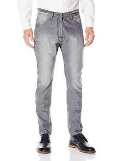 Calvin Klein Jeans Men's Taper, Frosted Gray Dye, 32Wx32L