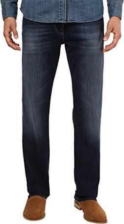 Mavi Jeans Men's Zach Classic Straight in Dark Brushed Willi