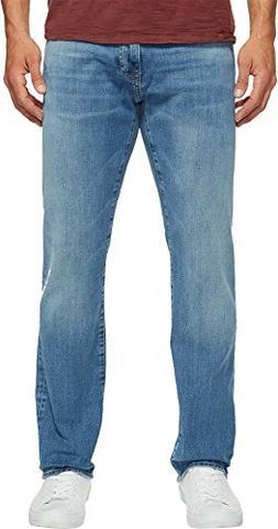 Mavi Jeans Men's Zach Regular Rise Straight Leg in Light Wil