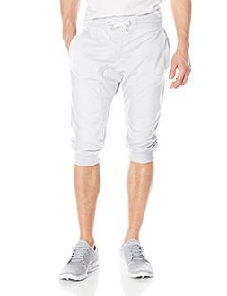 Southpole Men's Jogger Capri Pants Basic Solid Colors In 3/4