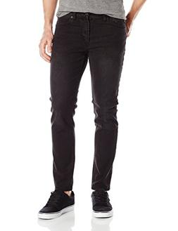 Obey Men's Juvee Skinny Denim Jeans II, Faded Black, 32