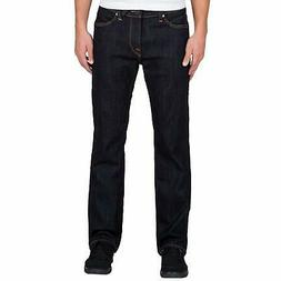Volcom Men's Kinkade Stretch Denim Jean, Rinse, 32X32