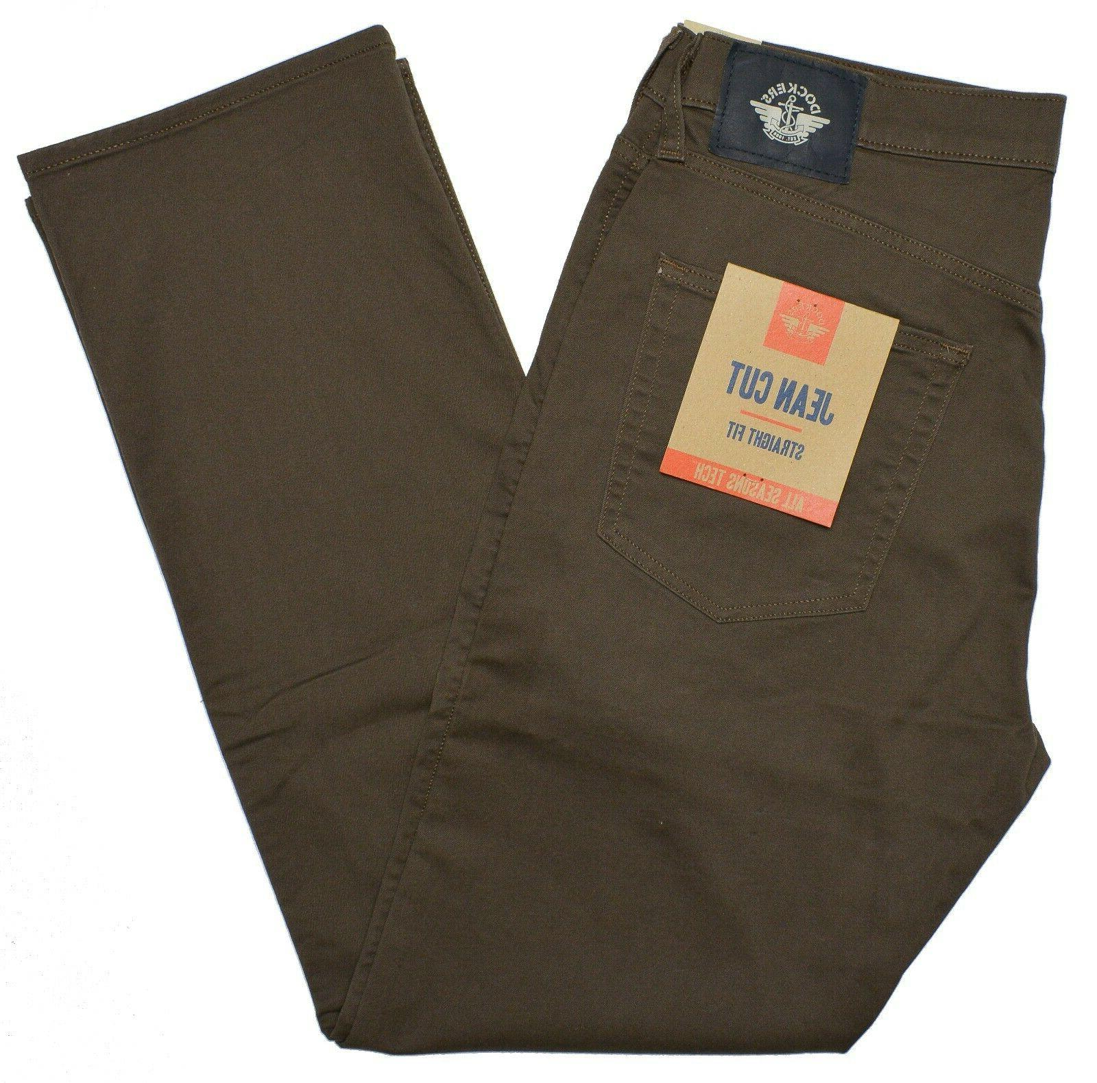 Dockers Straight Fit Jean All Pants