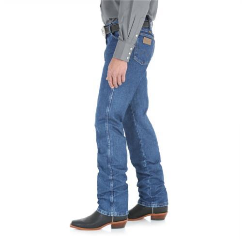13MWZGK Men's Cowboy Cut Jeans Stone Wash