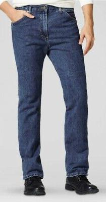 Dickies 14293 Men's Regular Straight Fit 6-Pocket Denim Jean