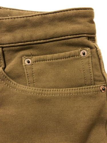 Weatherproof Vintage Men's Fleece-Lined Jeans Wheat Varies NEW