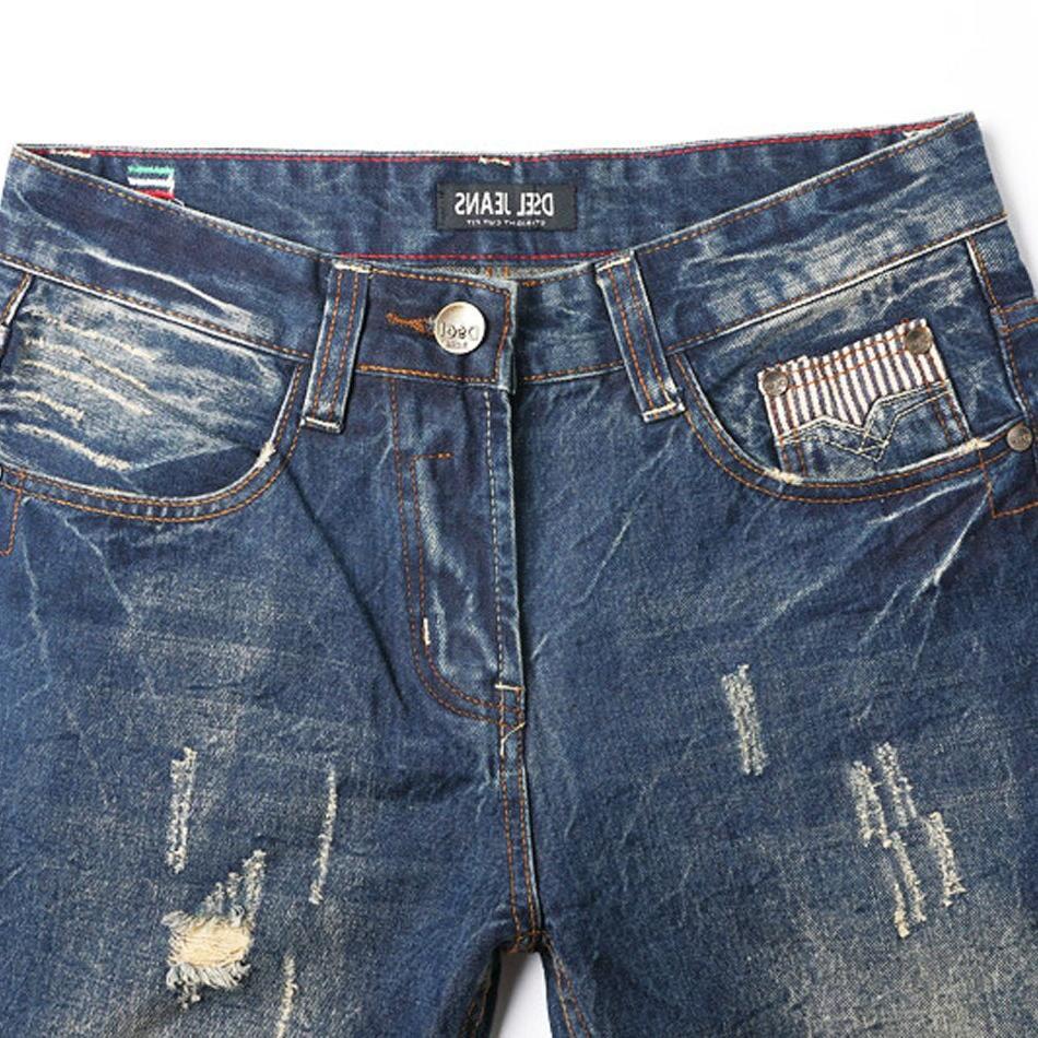 2019 <font><b>Jeans</b></font> High Quality Slim Fit Designer Patch <font><b>Jeans</b></font> Male