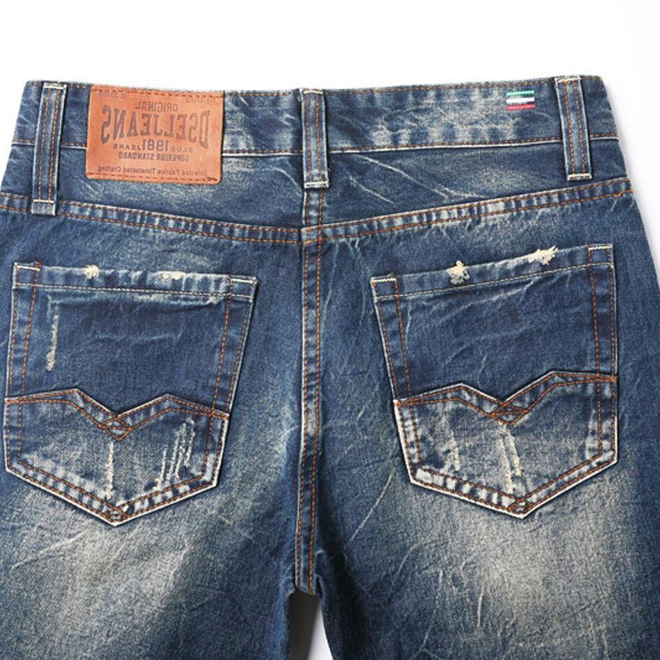 2019 Fashion <font><b>Jeans</b></font> <font><b>Men</b></font> High Quality Designer Male Pants Brand <font><b>Men</b></font>`<font><b>s</b></font> <font><b>Jeans</b></font>