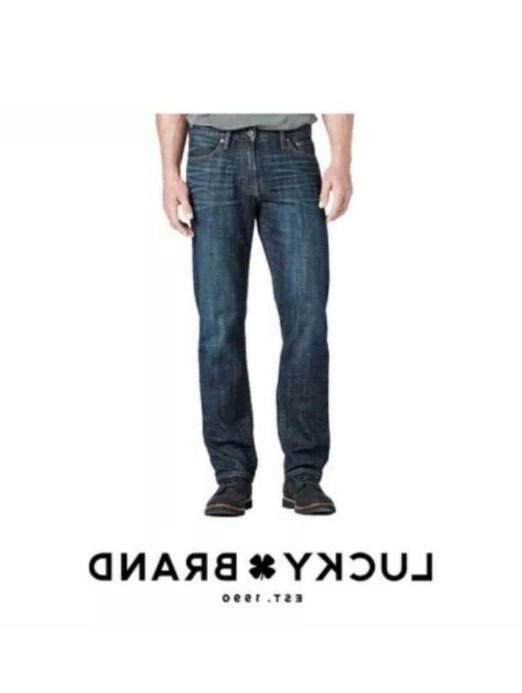 Lucky Brand Men's 221 Original Straight Leg Jeans Kings, Cro