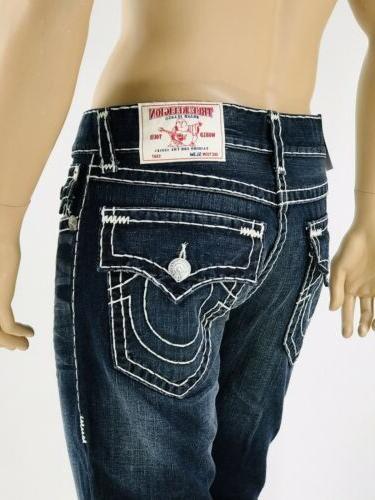 $249 T Religion Jeans 34 36 38 Slim Super T Blue Mega QT
