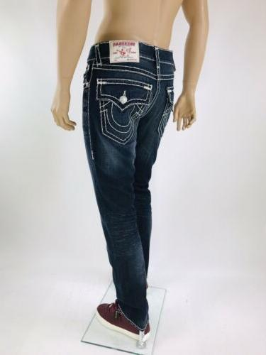 Religion Men Jeans 32 34 Super T Blue Rope Mega QT
